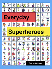 Everyday Superheroes comic book cover