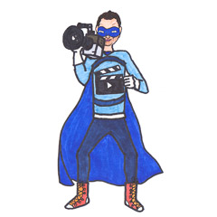 Justin Schein: Everyday Superhero